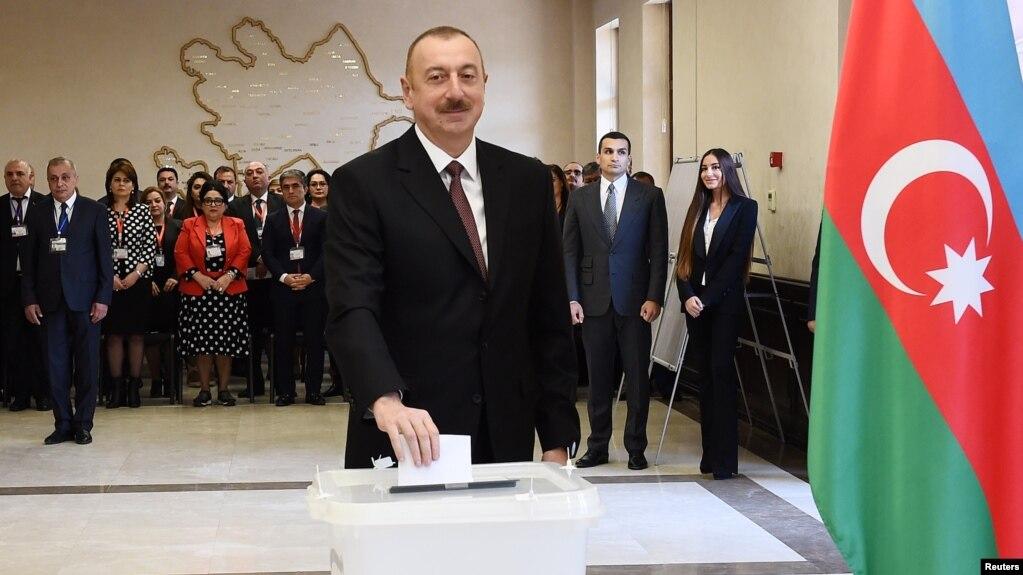 Алиев набрал 86% голосов на президентских выборах