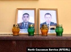 Погибшие сотрудники Росгвардии Кайрат Ахметов (справа) и Владимир Горсков