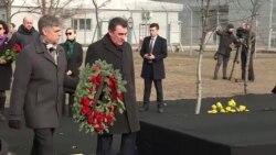 В аэропорту Борисполь заложили сквер памяти жертв сбитого в Иране самолета