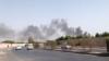 Пассажирский самолет упал в жилом районе Карачи в Пакистане. Двое человек выжили