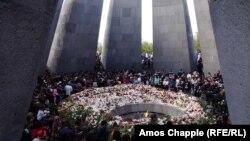 Мемориал в память жертв убийств в Османской империи в 1915 году