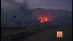 Поджигатели травы спалили Сибирь