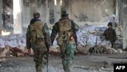 Сирийская армия в Идлибе