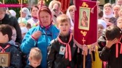С богом на каникулы: окончание учебного года на Урале отпраздновали крестным ходом детей