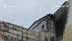 """В Кемерове сносят сгоревший торговый центр """"Зимняя вишня"""""""