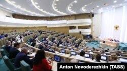 Заседание Совета Федерации в России (иллюстративное фото)