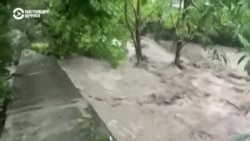 В Ялте потоп после сильных дождей
