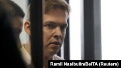 Максим Знак в суде в Минске