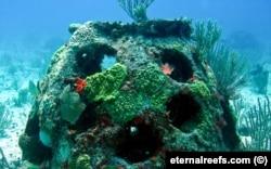 """Искусственный """"погребальный"""" риф. Фото: eternalreefs.com"""