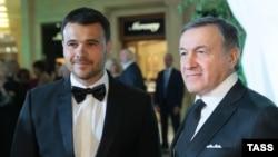 Эмин (слева) и Араз Агаларовы