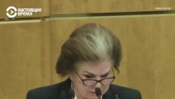 """Космонавт Терешкова предлагает """"обнулить"""" президентские сроки Путина"""