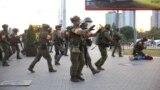 Задержания на улицах Минска 10 августа