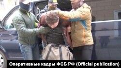 Задержание Давыденко в Симферополе