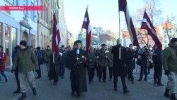 Сколько людей собирает ежегодный марш легионеров Waffen-SS в Риге