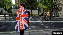 Лондон – Сторонник выхода из ЕС, 24 июня 2016