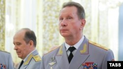 Глава Росгвардии Виктор Золотов и глава ФСБ Виктор Бортников