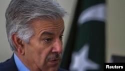 Министр обороны Пакистана Хаваджа Асиф (2014)