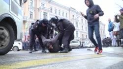 Задержания в Москве 2 апреля