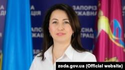 Глава Госкино Украины Марина Кудерчук