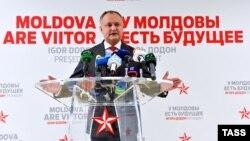 Игорь Додон, новый президент Молдовы