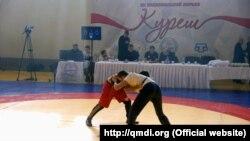 Соревнования по курешу в Крыму