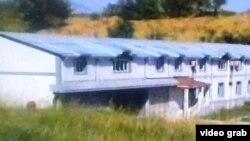 Один из домов, принадлежащих генералу Назарзоде - кадр из репортажа Таджикского телевидения