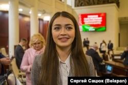 Депутат белорусского парламента Мария Василевич. 2019 год