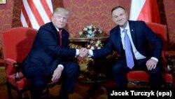 Трамп и Анджей Дуда