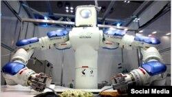 Робот-кулинар, фото New York Times