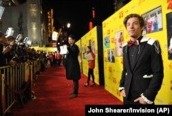 """Джимми Беннет на премьере фильма """"Муви 43"""" в Лос-Анджелесе, 2013 год"""