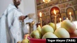Празднование Яблочного Спаса в Татарстане