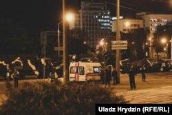 Милиция в Минске на месте происшествия, 3 июля 2019 года