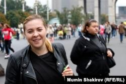 Светлана Курицына на ВДНХ