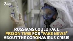 'Fake News' Law Targets Russian Media Over Coronavirus Info
