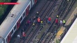 Взрыв в вагоне метро в Лондоне: в поезд подложили самодельное взрывное устройство