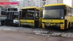 Кладбище забытых автобусов
