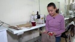 В Бишкеке работает фабрика, где трудятся женщины с инвалидностью