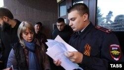 Жители Донецка подают документы на получение российского паспорта. Май 2019 года. Фото: ТАСС