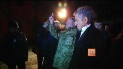Порошенко посетил Краматорск и потребовал немедленного прекращения огня
