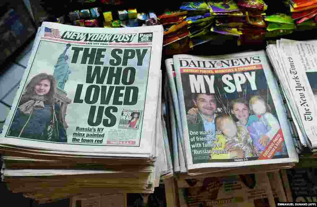 Заголовки американских газет на следующий день после ареста