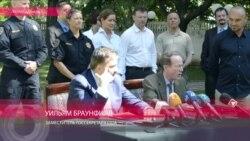 Уильям Браунфилд подписывает с Саакашвили меморандум о сотрудничестве