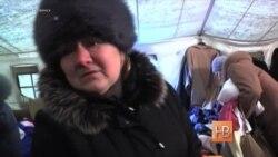 """Репортаж """"Голоса Америки"""" о беженцах в Луганской области"""