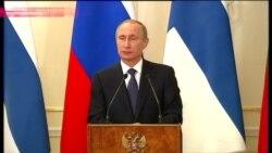 По словам Путина, силы НАТО приближаются к границам России, а та в свою очередь реагирует на угрозы