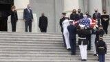 Америка: санкции против Лукашенко и похороны судьи Гинзбург