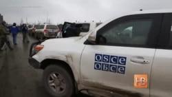 Миссия ОБСЕ осматривает руины Донецкого аэропорта