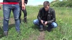 Как похищали Мурада Амриева: видео с места передачи российским спецслужбам