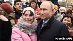 Путин на встрече с жителями Иванова, март 2020 года
