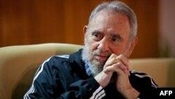 Фидель Кастро в 2011 году