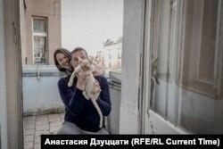 Валерия и Александр. Фотография сделана по видеосвязи