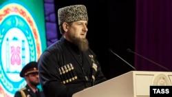 Рамзан Кадыров на инаугурации, 5 октября 2016